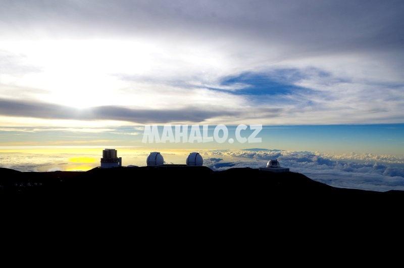 Observatoře na Mauna Kea