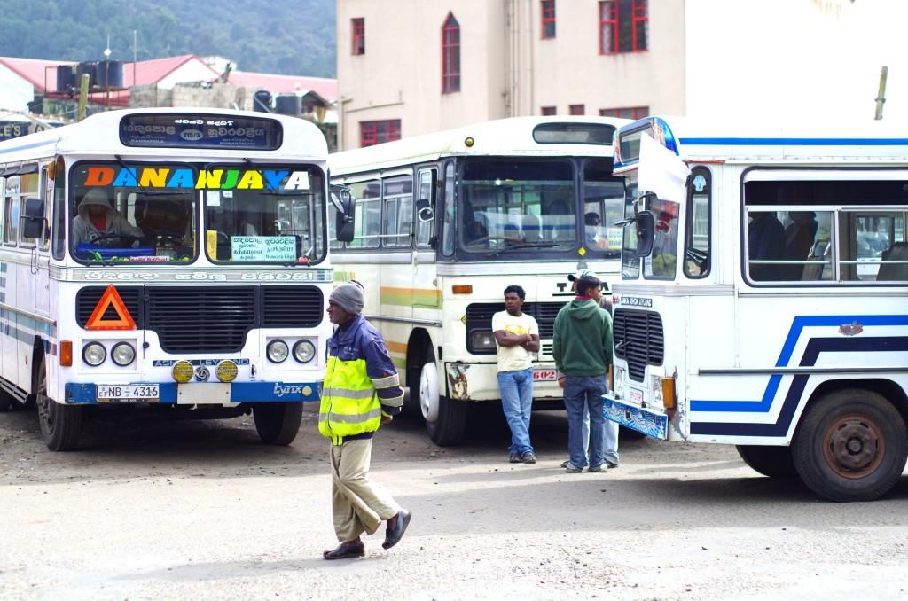Autobusové nádraží Nuwara Eliya