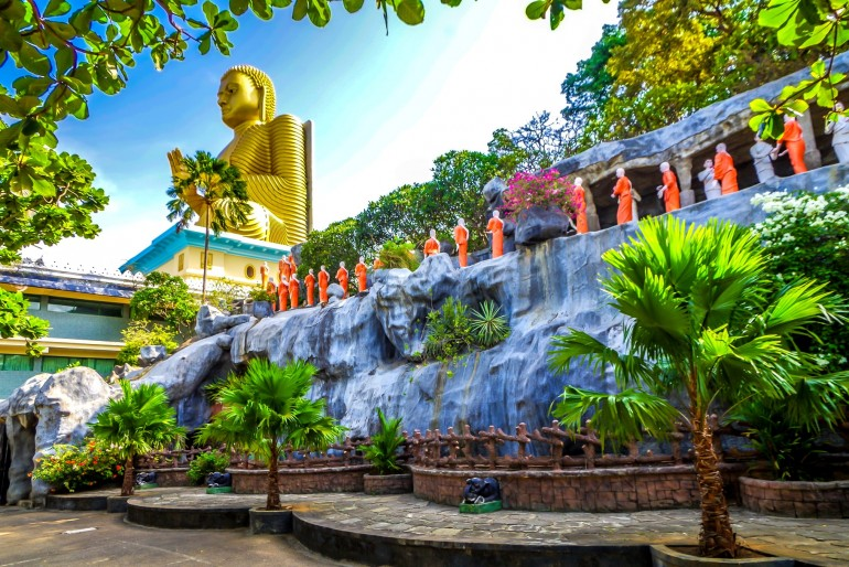 Skalní chrámy Dambulla (Dambulla Rajamaha Viharaya)