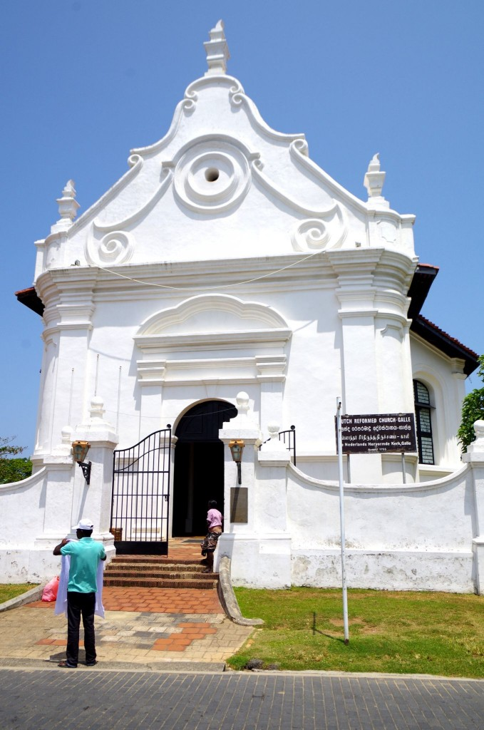 Holandský reformní kostel v Galle