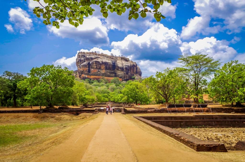 Sigiriya (Lví skála)