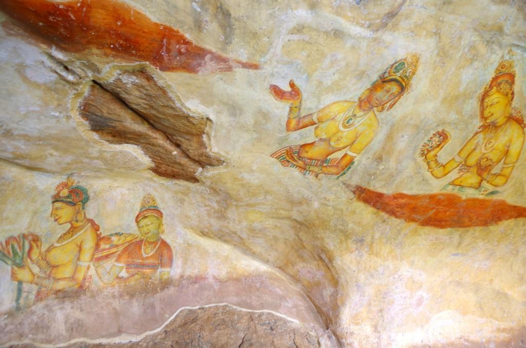 Sigiriyjské krásky