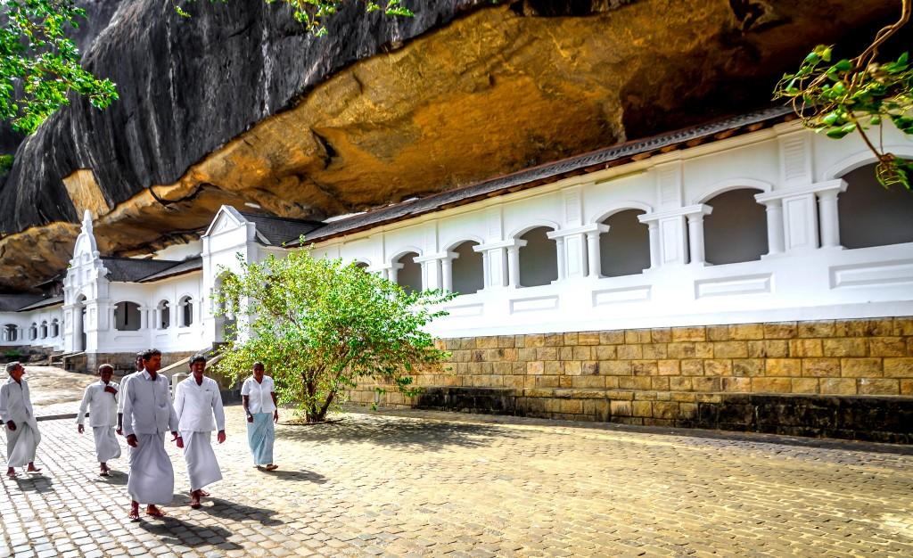 Skalní chrámy Dambulla Rajamaha Viharaya