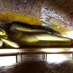 Výzdoba jedné z jeskyní skalního chrámu Dambulla