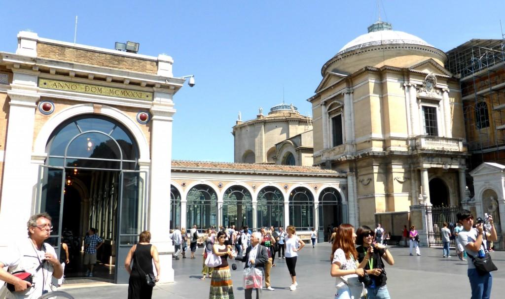 Atrium čtyř bran (Atrio dei Quattro Cancelli)