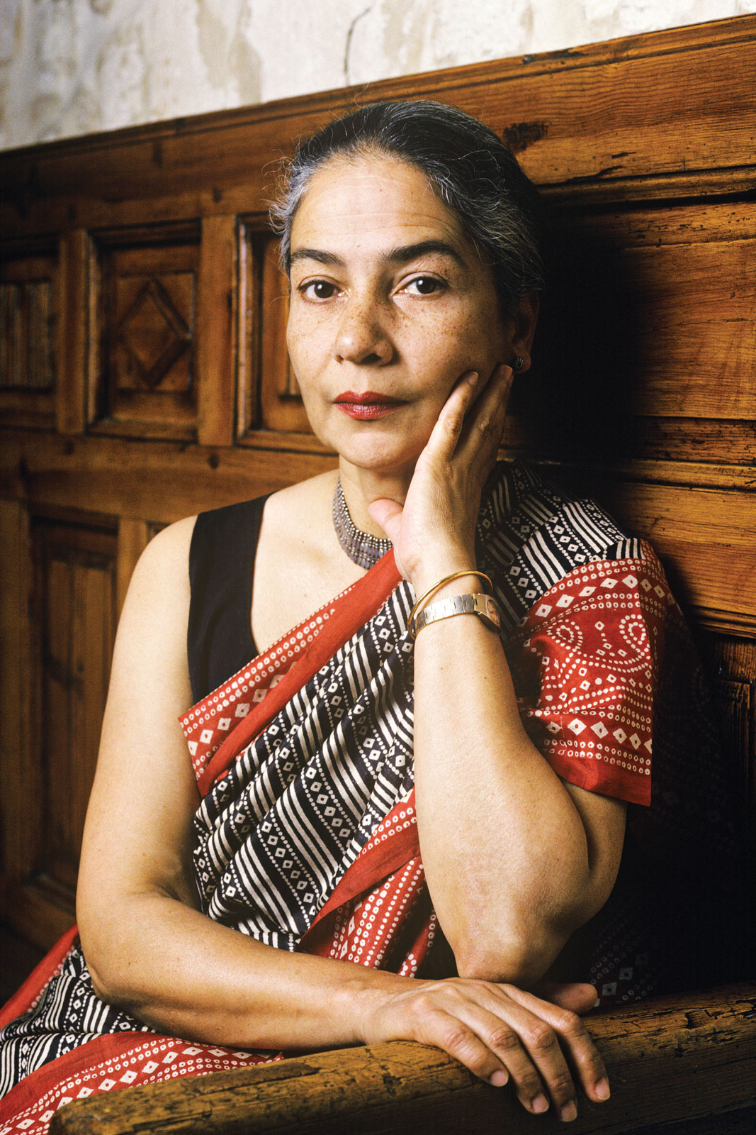 characters in villlage by the sea by anita desai