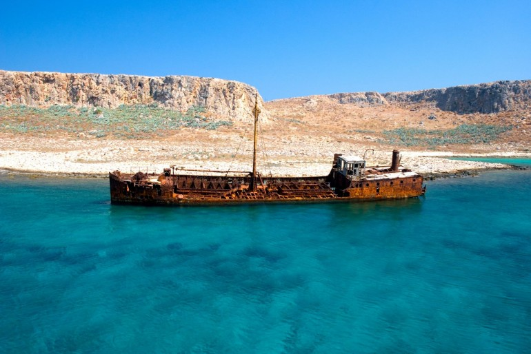 The Shipwreck Beach