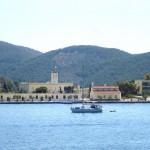 Armádní základna na ostrově Poros