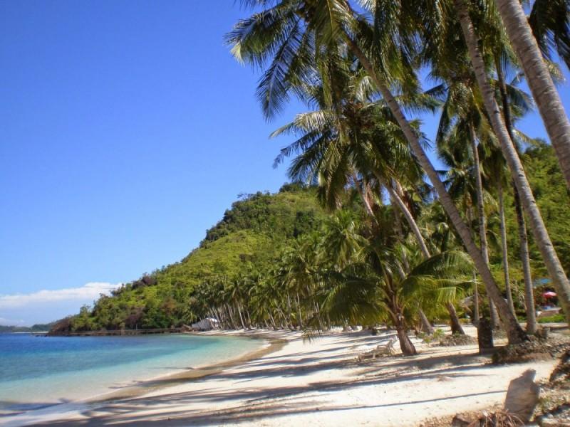 Pláž na západní Sumatře