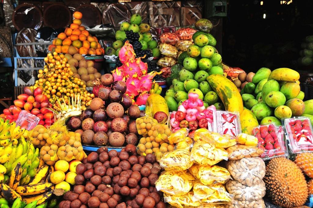 Indonéské exotické ovoce