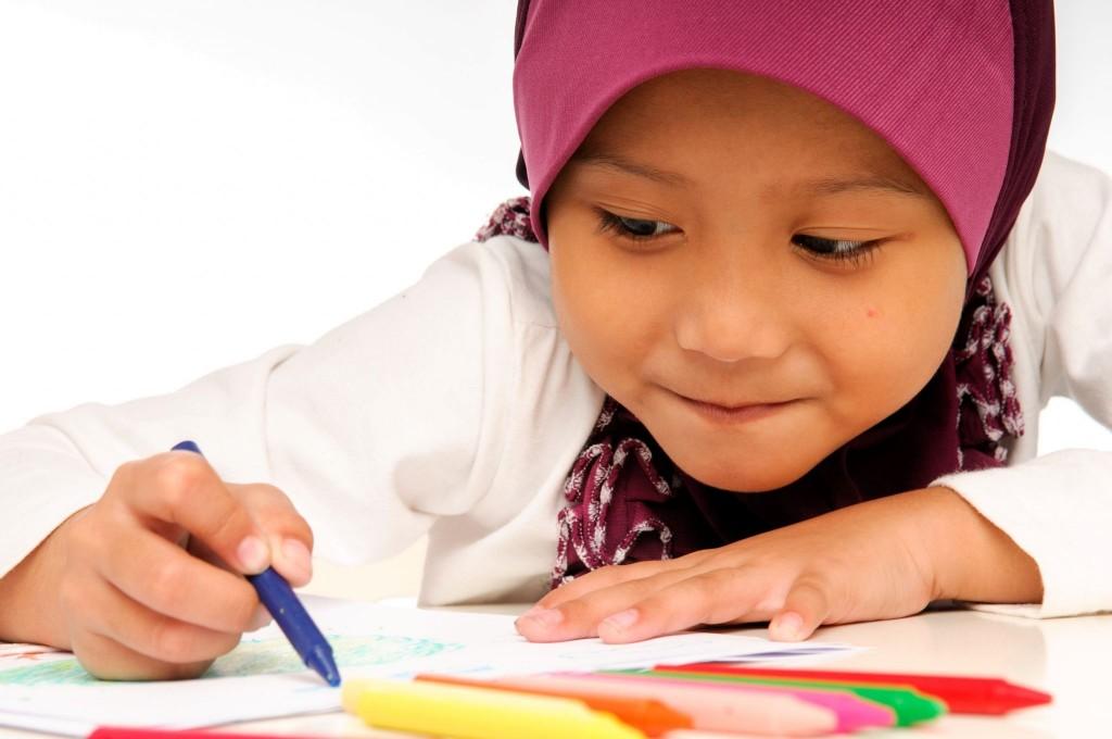 V malajské škole se samozejmě učí i jazyk Malajsie