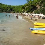 Pláž Chrisi Milia