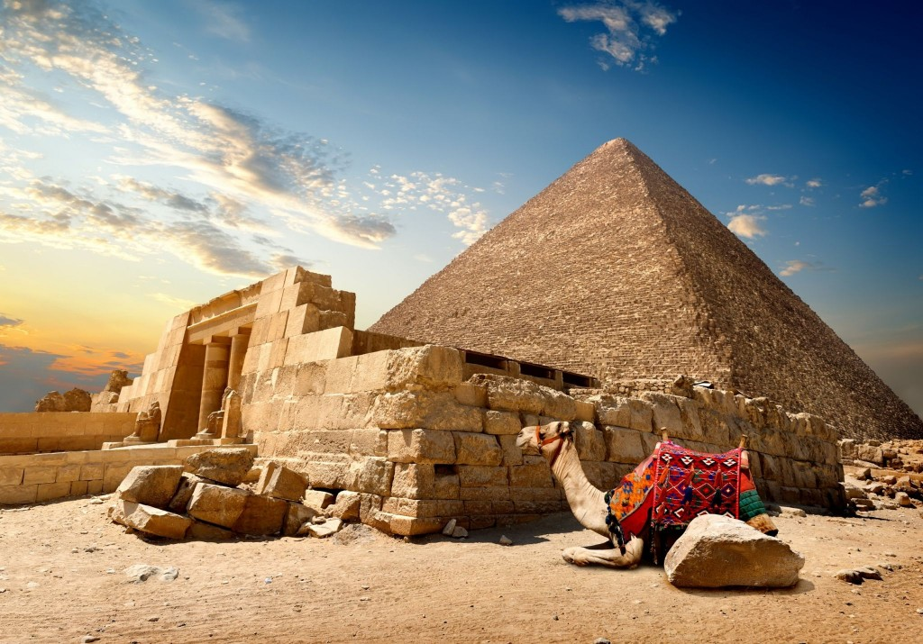 Cheopsova pyramida (Velká pyramida v Gíze)