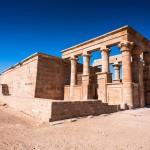 Chrám Hibis - největší chrám oázy Kharga