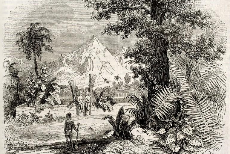 Historie Markézských ostrovů