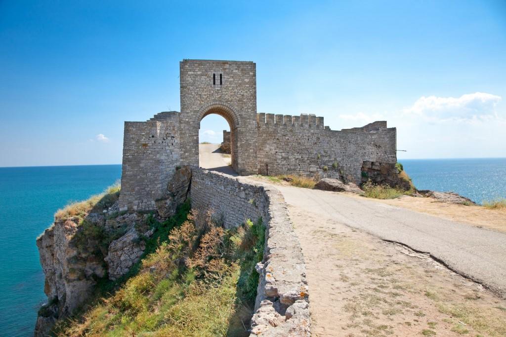 Pevnost Tirisis na mysu Kaliakra