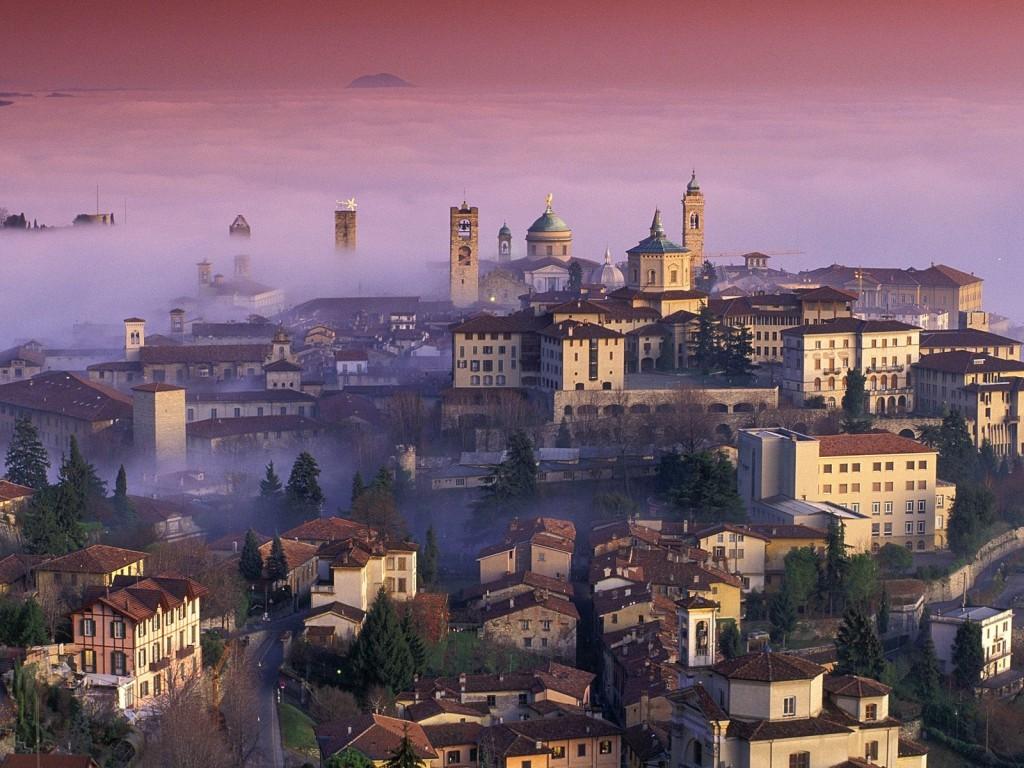 Bergamo v Lombardii
