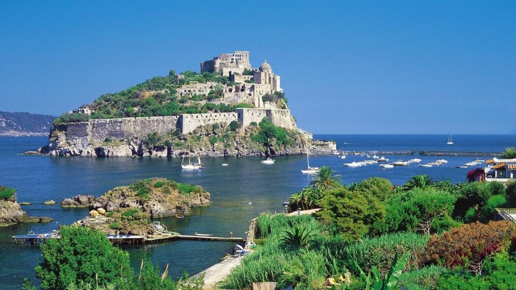 Castello Aragonese na Ischii