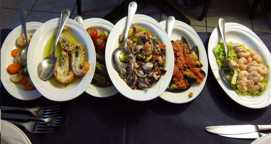 Jídlo na Sardínii je pestré a velmi chutné