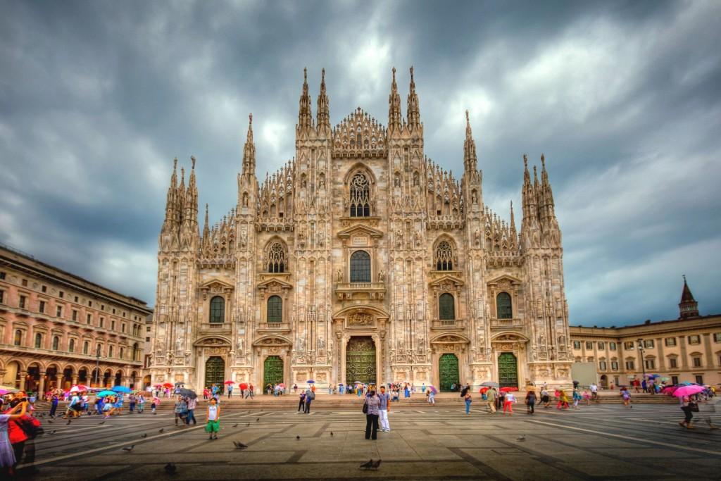 Katedrála v Miláně