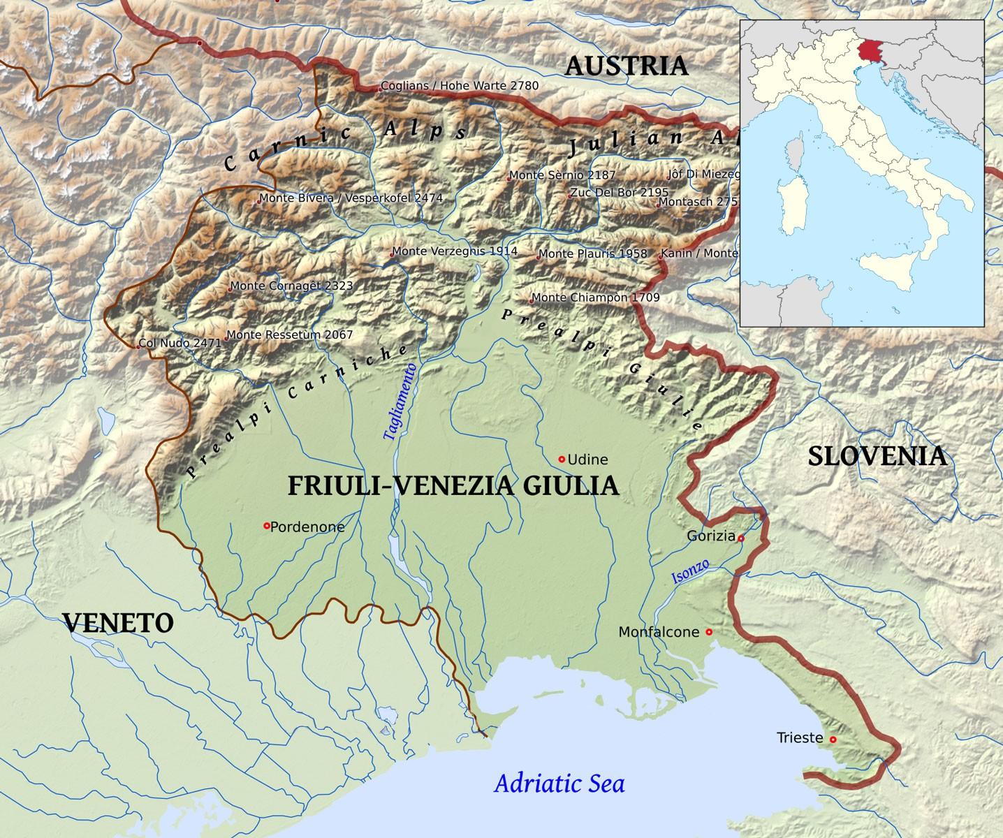 Pr vodce po regionu friuli venezia giulia it lie for Progettazione giardini friuli venezia giulia