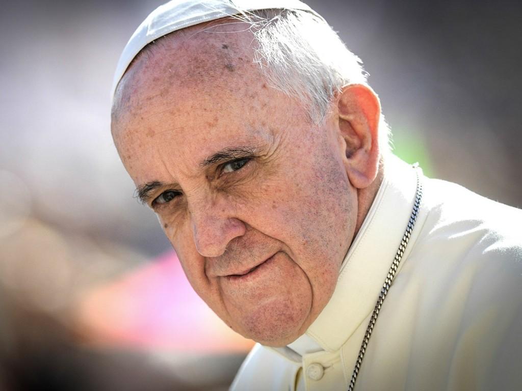 Papež František - vlastním jménem Jorge Mario Bergoglio