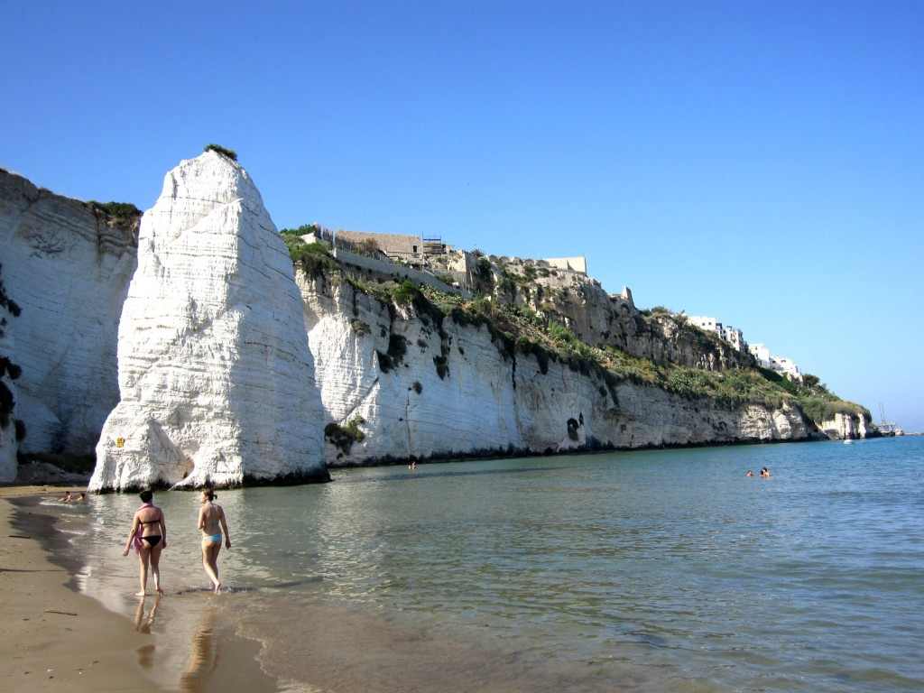 Pláž u Vieste