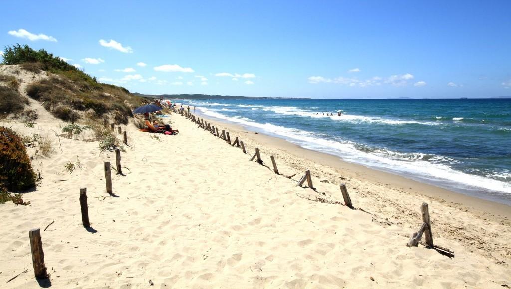 Pláž v Platamona