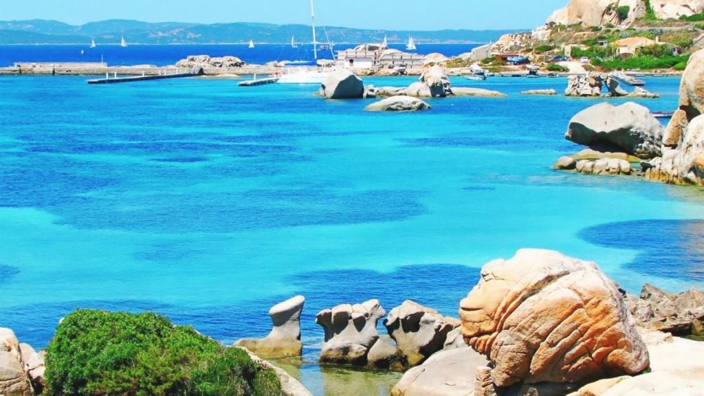 Pobřeží Sardínie