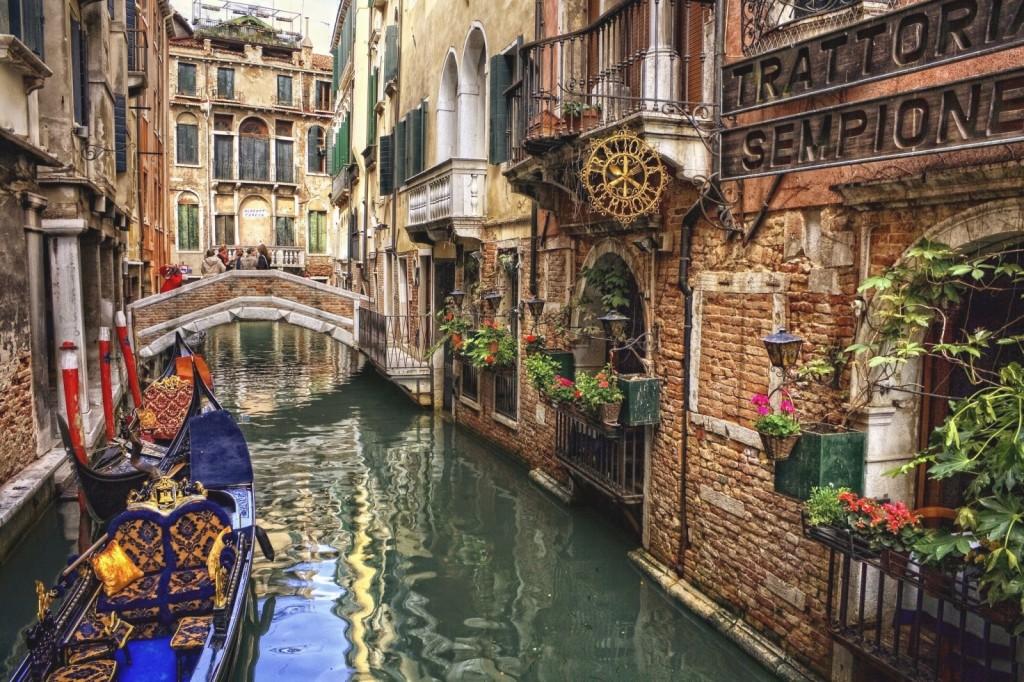 Romantické benátské kanály