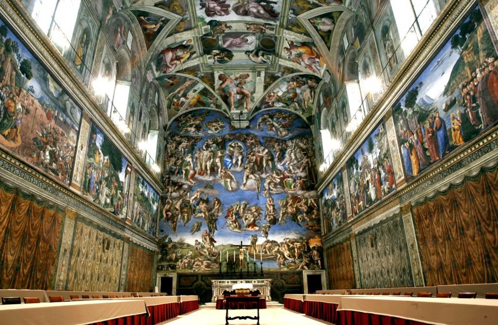 Sixtínská kaple (Cappella Sistina)