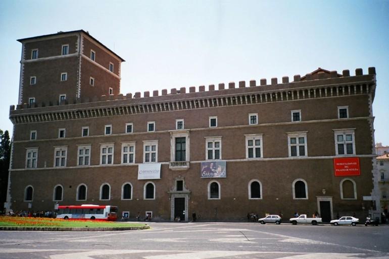 Benátský palác (Palazzo Venezia)