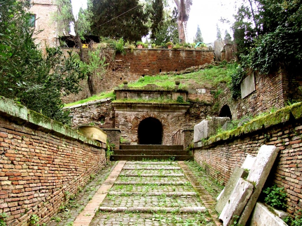 Hrobka Scipiových (Sepulcrum Scipionum)