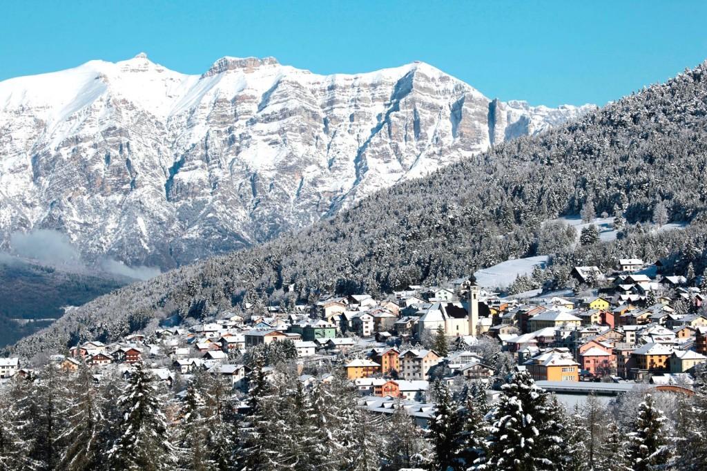 Městečka Folgaria a Lavarone v srdci Alp