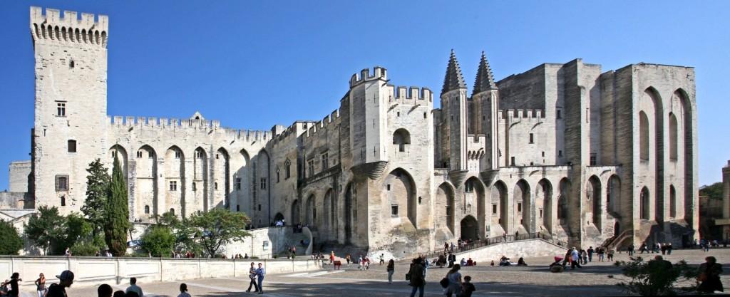Sídlo papežů v Avignonu