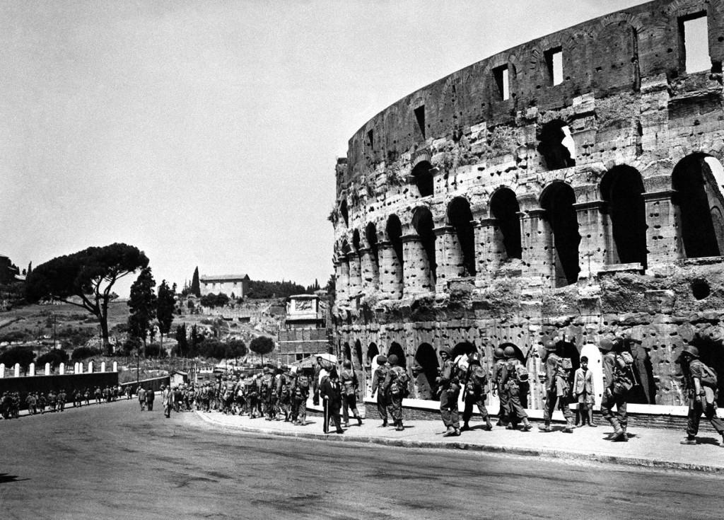 Spojenecká vojska v Římě za druhé světové války