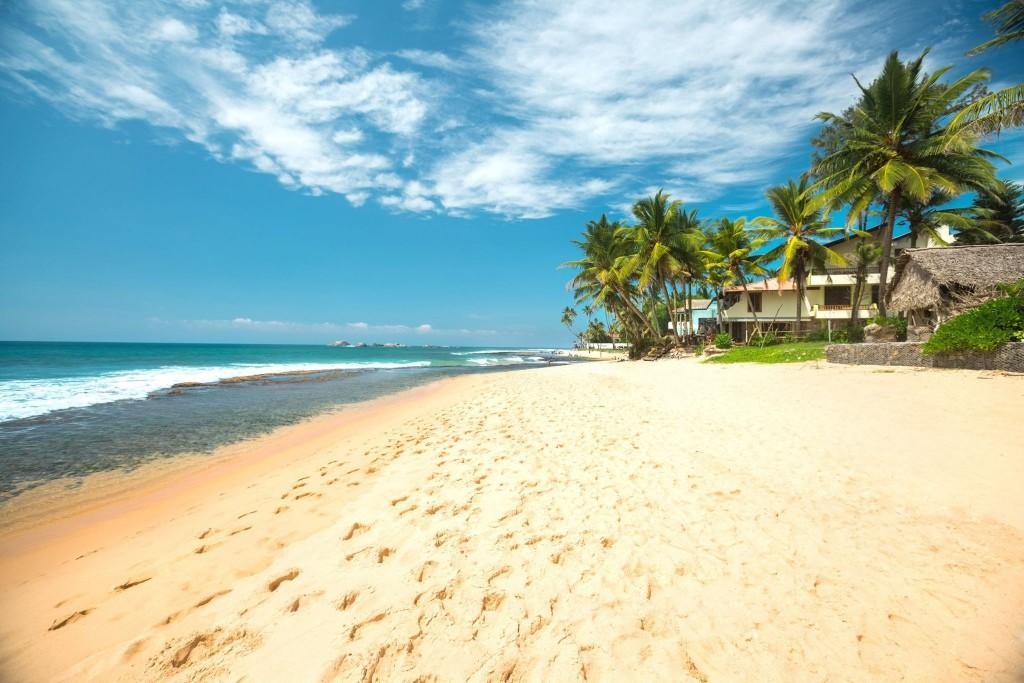 Pláž v letovisku Jimbaran