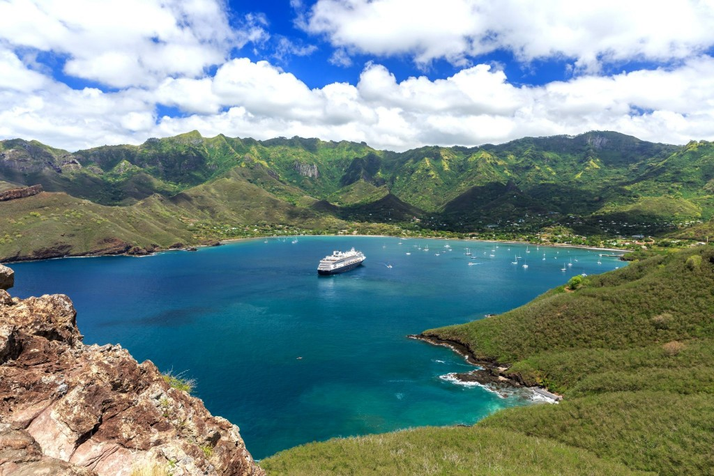 Zátoka na ostrově Nuku Hiva