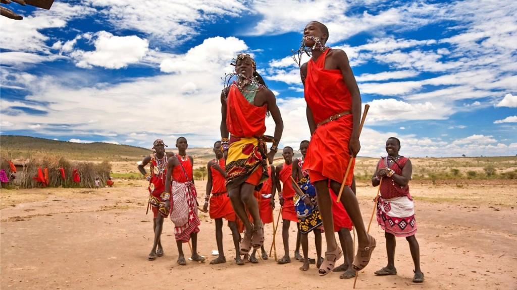 Masajové - nejznámější obyvatelé Afriky