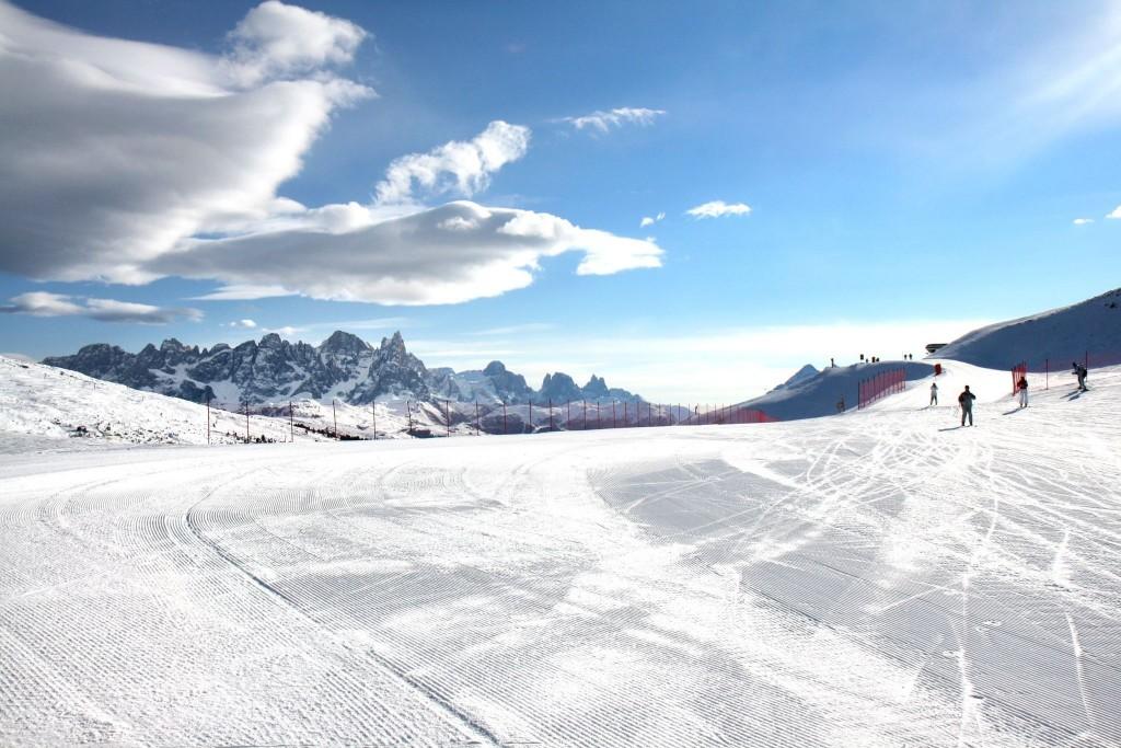 Lyžování ve Val di Fiemme