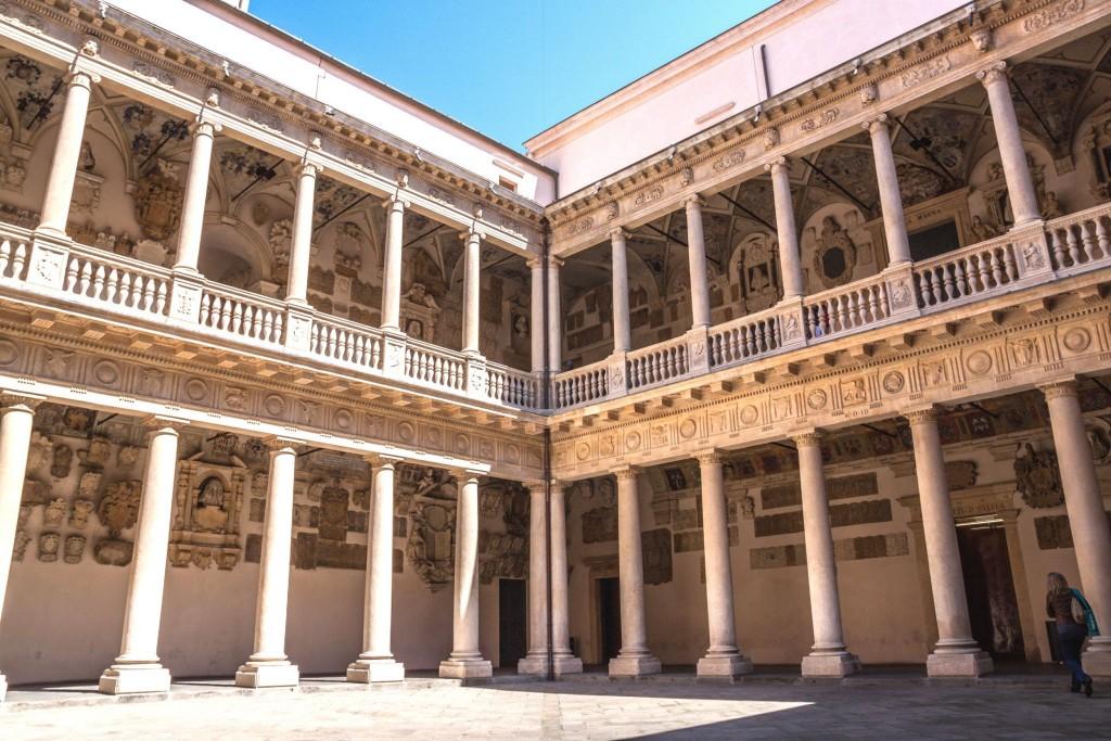 Universitá (Palazzo) Bó - sídlo padovské univerzity
