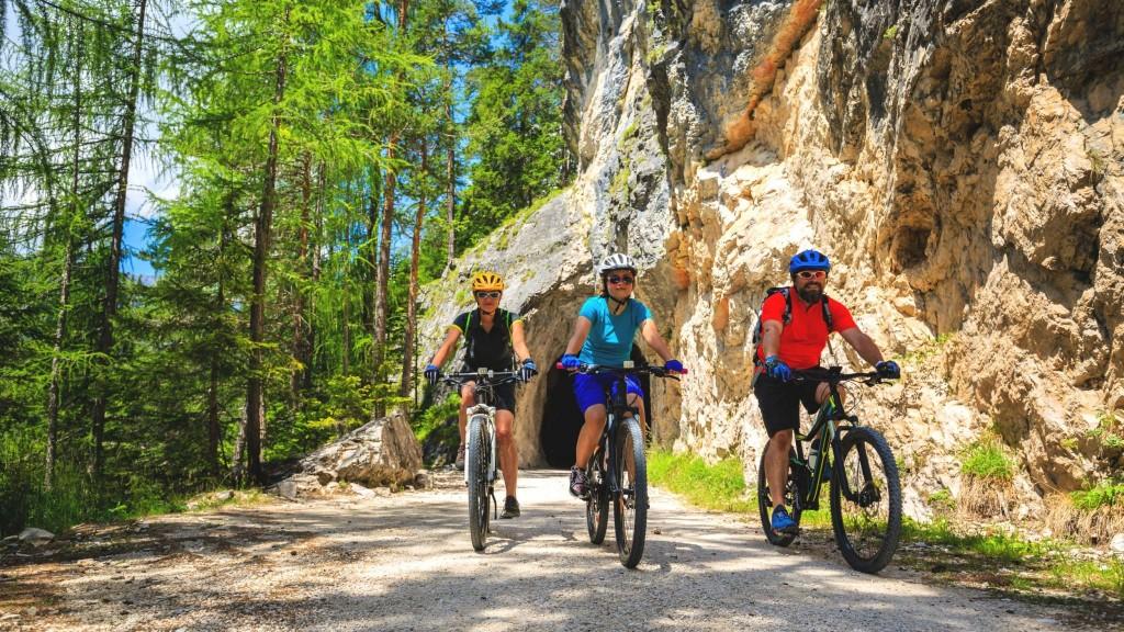 Cyklistika v v Národním parku Dolomiti d'Ampezzo
