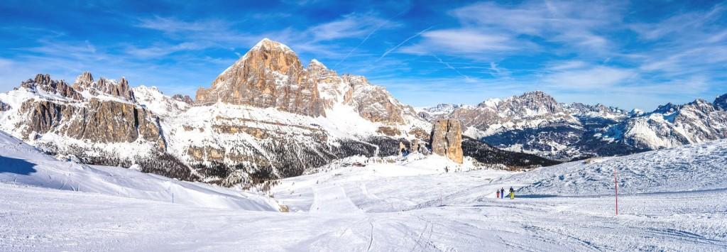 Lyžování v Cortina d'Ampezzo