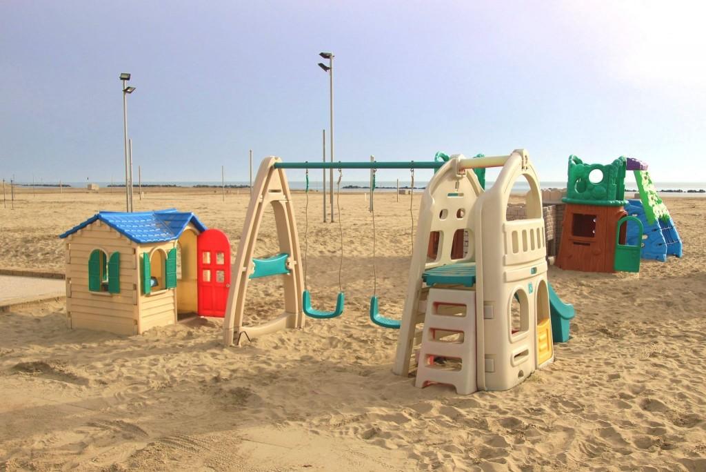 Na pláži v Porto Garibaldi