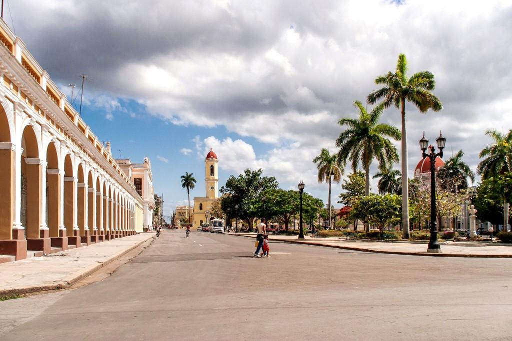 Náměstí v Cienfuegos
