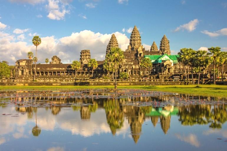 Navštivte majestátní chrámy v Angkoru
