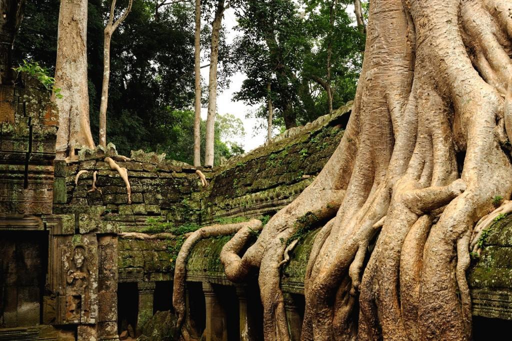 Krása chrámového komplexu