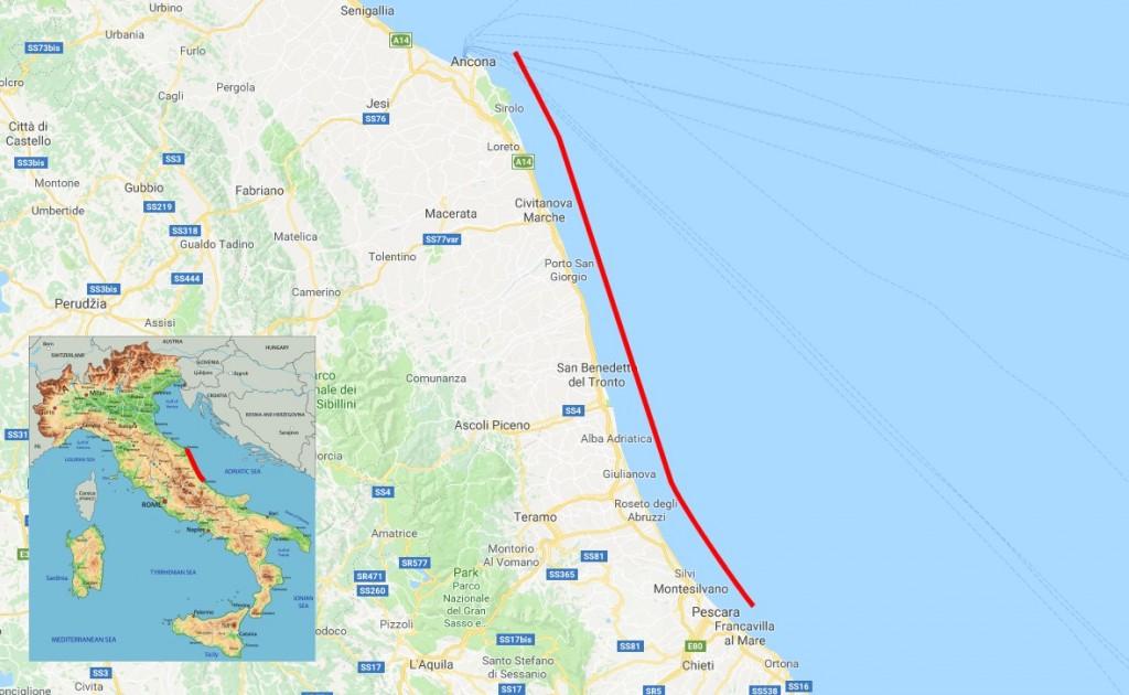 215109157 Palmová riviéra | Marche | Itálie | MAHALO.cz