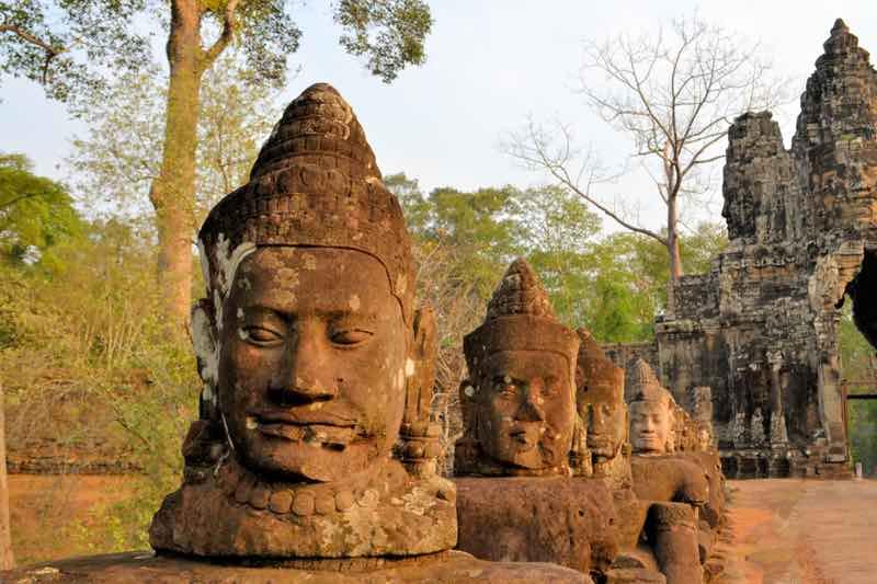 Vstup do areálu chrámu Angkor Thom