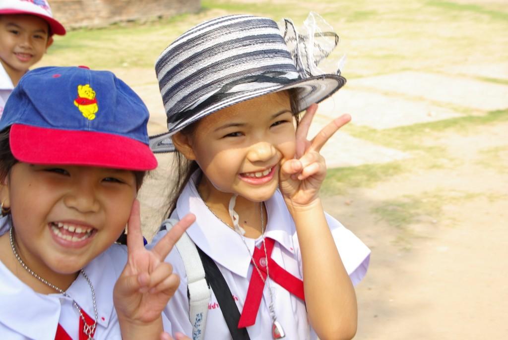 Skvělé thajské děti